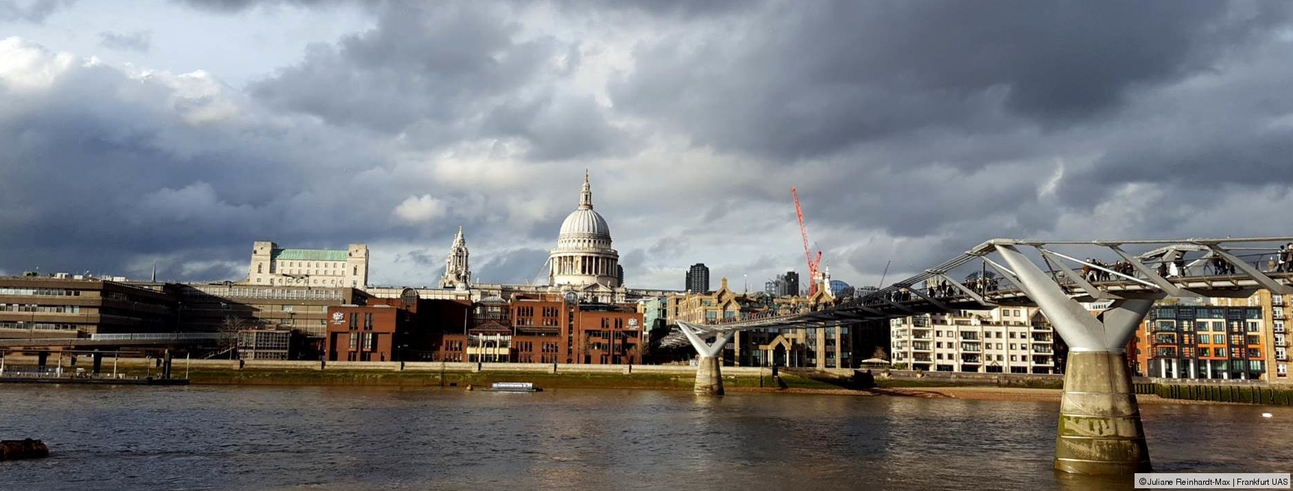 Blick auf St. Pauls in London