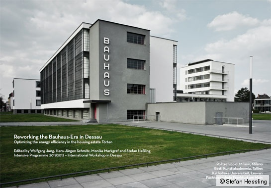 Broschur Cover Reworking the Bauhaus Era